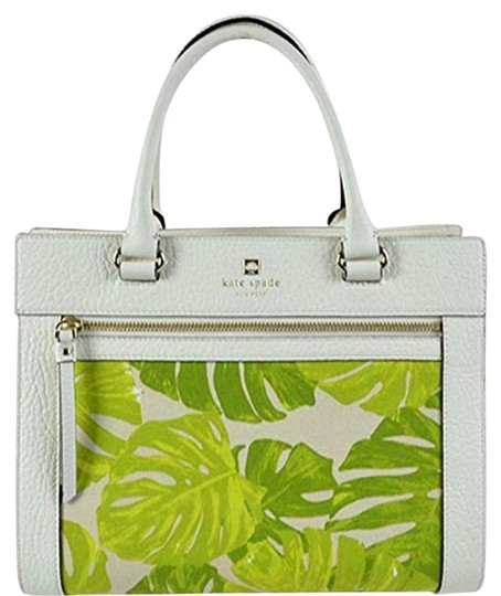 Preload https://img-static.tradesy.com/item/3051580/kate-spade-perri-lane-romy-white-leather-satchel-0-2-540-540.jpg