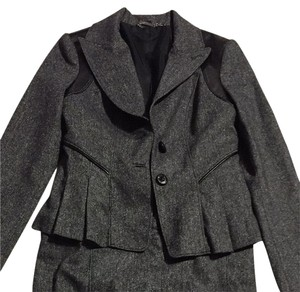 bebe Gray Skirt Suit