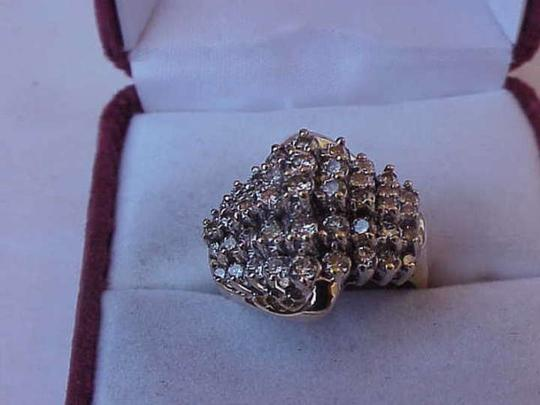 Other $4,868 Estate 10K Yellow Gold 2.00ct Diamonds Wedding Ring