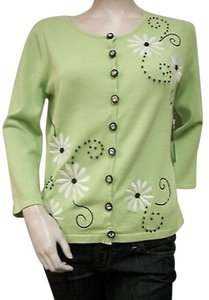 Other Timberlea Organic Cardigan Embroidered Ts13052 Beaded Sweater