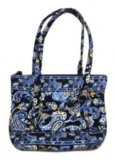 Preload https://img-static.tradesy.com/item/30537/vera-bradley-retired-color-windsor-blue-cotton-tote-0-0-540-540.jpg
