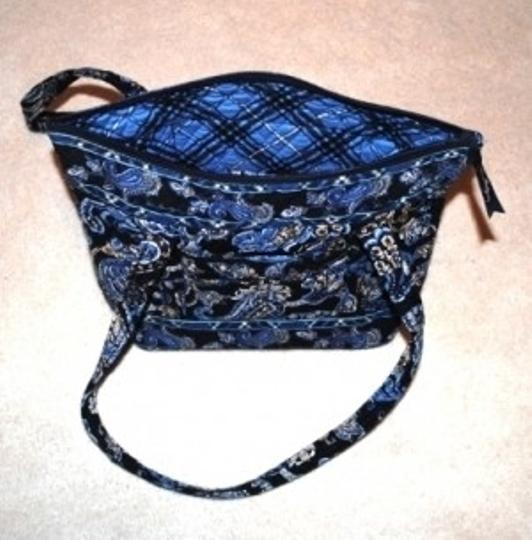 Vera Bradley Retired Color Tote in Windsor Blue