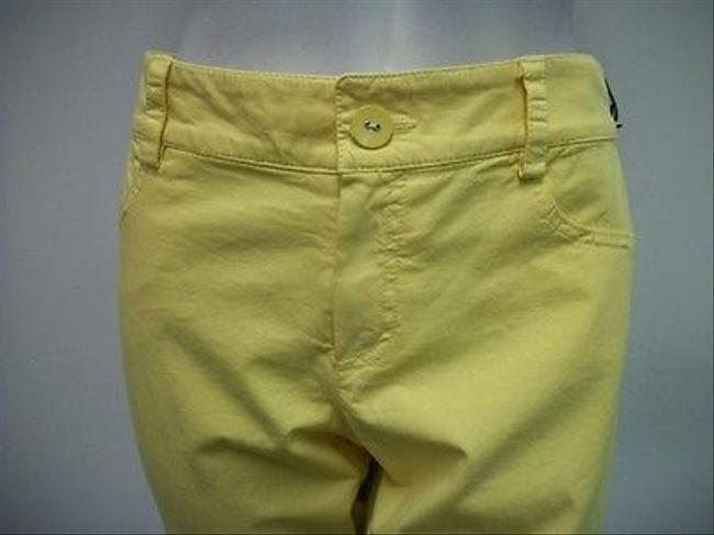 Other Morrissey Y Cropped Stretch Modern Blend 6014486 Capri/Cropped Pants Yellow