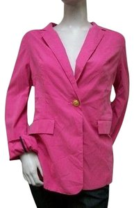 TCEC Tcec One Button Closure Long Sleeve Blazer Suit Pink