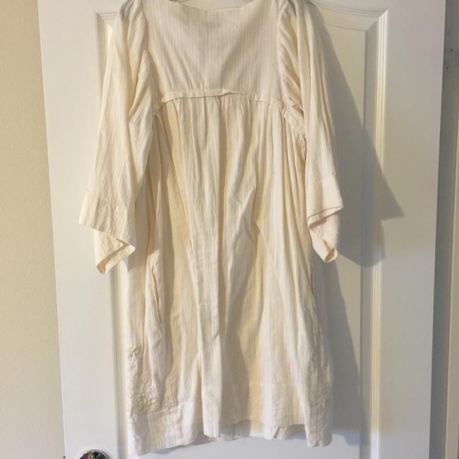 Mango short dress White Pockets Summer Fun Vacation on Tradesy