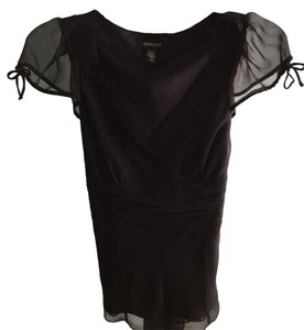 Other Night Out Night Out Silk Size Small Size Small Top Black