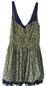 Free People short dress Floral Flower Lace Summer on Tradesy