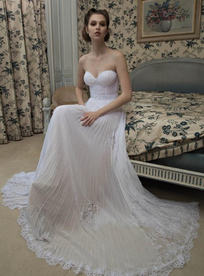 752745f0006 Inbal Dror Very Light Pink Feminine Wedding Dress Size 2 (XS) Image 0 ...