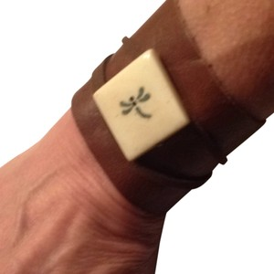 Other Butter Soft Chocolate Leather Wrap Bracelet