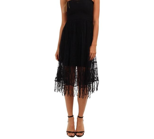Free People Embroidered Skirt Or Convertible Xs Dress