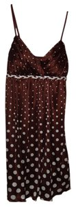 Ruby Rox Polka Dots Braided Belt Dress