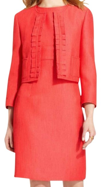 Preload https://img-static.tradesy.com/item/306010/kasper-coral-rose-pinks-brazilian-sky-collection-suit-14p-knee-length-workoffice-dress-size-petite-1-0-0-650-650.jpg
