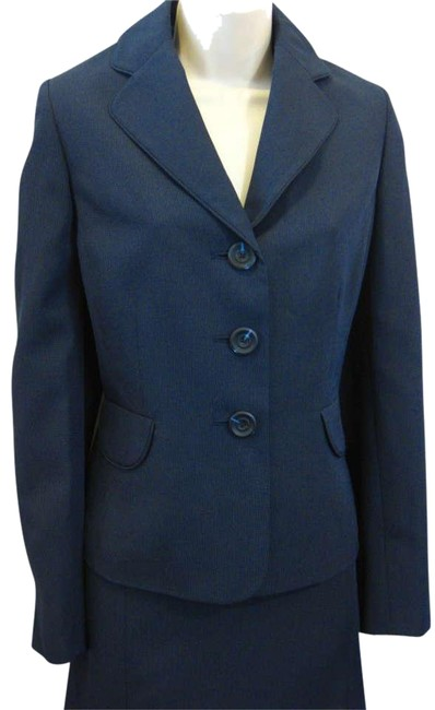 Evan Picone Evan Picone Navy Skirt Suit8 NWT NEW Montpelier Skirt Suit