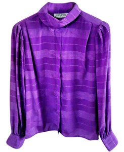 Josephine Studio 3-way Wear Textured Top purple