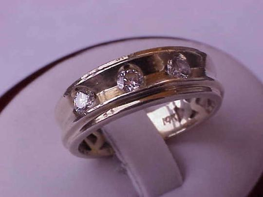 Vintage 14k Yellow Gold .75 ct VS/F old european cut diamonds ring