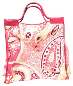 Juicy Couture Terrycloth Tote in PINK PAISLY