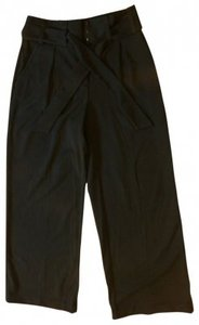 Apt. 9 High Waist 4 Wide Leg Pants Black