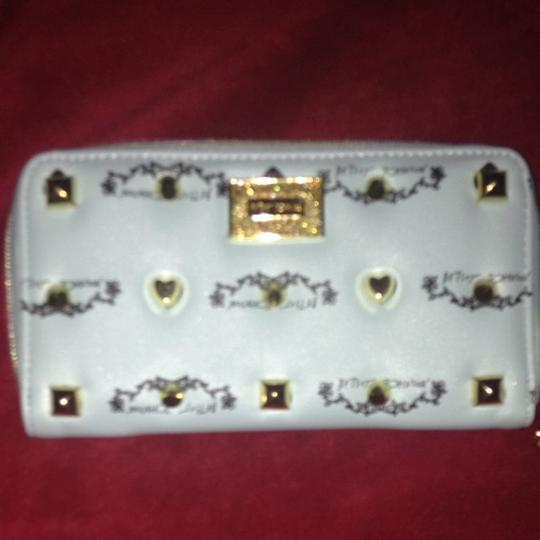 Betsey Johnson Betsy Johnson Studded Signature Wallet