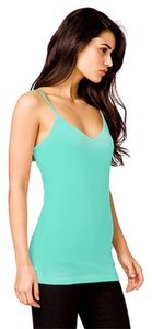 Forever 21 Cotton Spaghetti Strap Top Turquoise Emerald Green