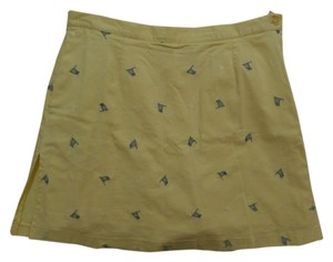 Allyson Whitmore Skort Yellow