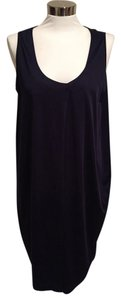 Jil Sander short dress Navy Sleeveless on Tradesy