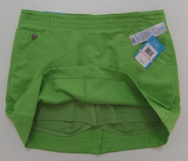 PGA Tour Nwt Skort Green