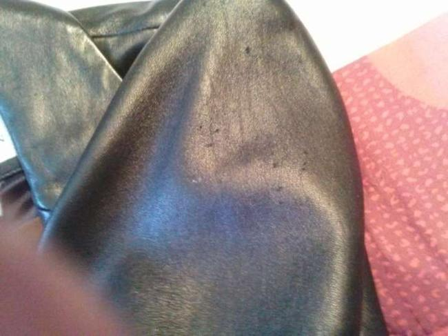 Anne Klein black Leather Jacket