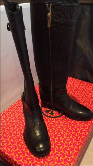 330507858786 Tory Burch Black Elina Riding Boots Booties Size US 5 Regular (M
