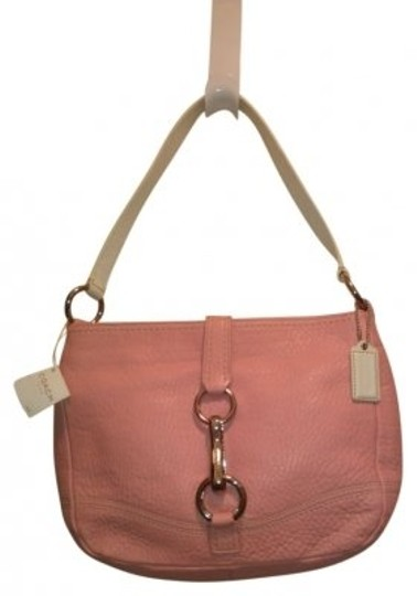 Preload https://item4.tradesy.com/images/coach-pink-and-white-leather-shoulder-bag-30638-0-0.jpg?width=440&height=440