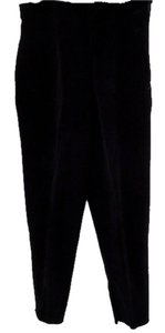 Liz Claiborne Velvet Embellished Straight Pants black