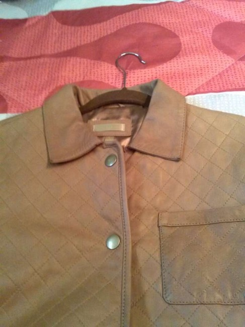 Wilsons Leather tan Leather Jacket