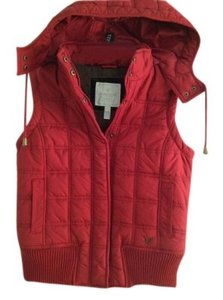 American Eagle Outfitters Hood Puffy Vest