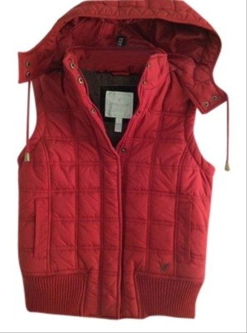 American Eagle Outfitters Hood Puffer Puffy Vest