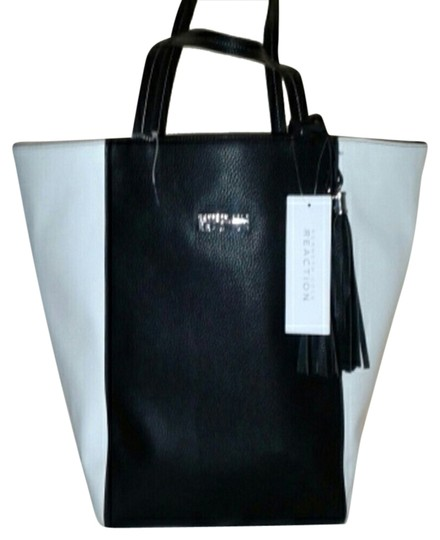 Kenneth Cole Tote in BLACK AND WHITE
