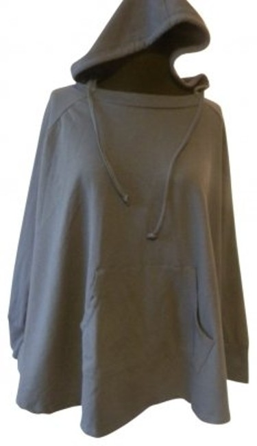 Preload https://item2.tradesy.com/images/willi-smith-blue-casual-hooded-ponchocape-size-8-m-30646-0-0.jpg?width=400&height=650