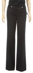 Tahari Wide Leg Pants Black