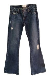 Abercrombie & Fitch Af Madison Size: 4s Flare Leg Jeans-Distressed