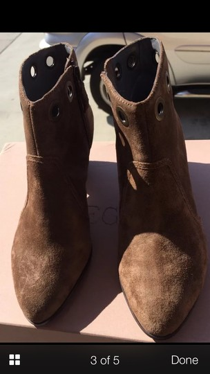 Rosegold Shoes Brown suede Boots