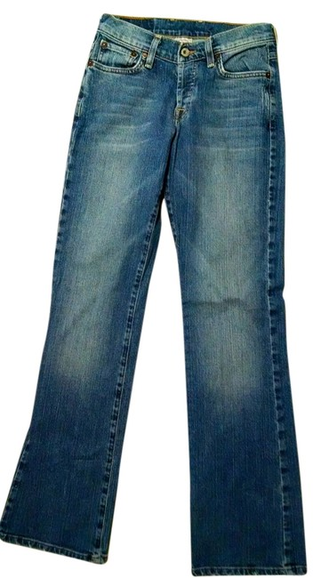 Lucky Brand Size 0 P1406 Boot Cut Jeans-Medium Wash