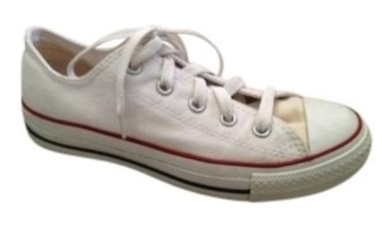Preload https://item3.tradesy.com/images/converse-white-all-star-low-top-chuck-taylor-sneak-sneakers-size-us-6-regular-m-b-30657-0-0.jpg?width=440&height=440