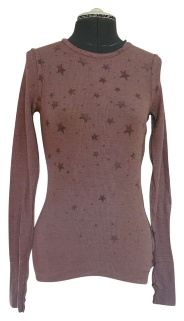 Item - Applique Thermal Maroon Sweater