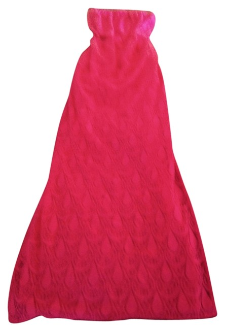 Pink Maxi Dress by Lilly Pulitzer Strapless