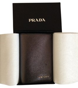 Prada Prada Saffiano Leather Card Case