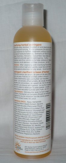 Other Earth Science Clarifying Herbal Astringent for Oily & Combination Skin 8.0 fl oz/240 mL
