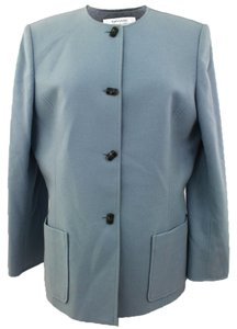 Tahari Tahari by Arthur S. Levine Woman Designer Light Blue Dressy Jacket Size 14