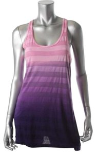 Hard Tail Ombre Racer-back Top Purple
