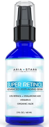 Other Aria Starr Beauty 2.5% Retinol Serum 2.0 fl oz Bottle (50% Remaining)
