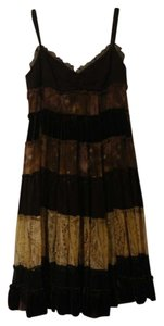 BCBGMAXAZRIA Full Ruffled Dress