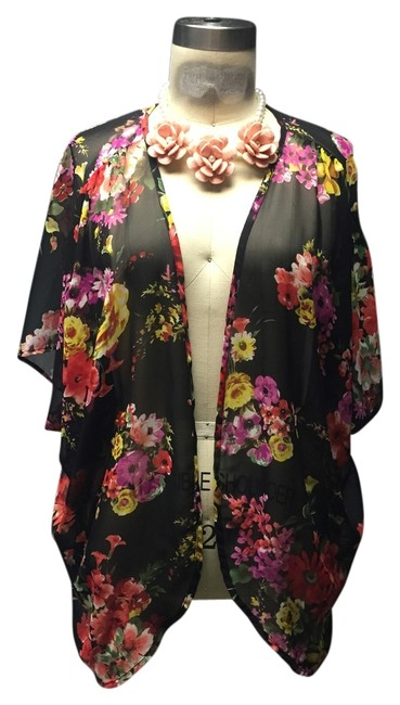 Preload https://item3.tradesy.com/images/urban-outfitters-black-floral-duster-cardigan-size-8-m-3067897-0-0.jpg?width=400&height=650