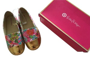 Lilly Pulitzer Target Espadrille Shoe Flat Flats